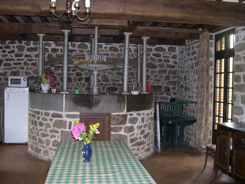 Gîte au bord l'eau, holiday rental in Ambrieres-les-Vallees