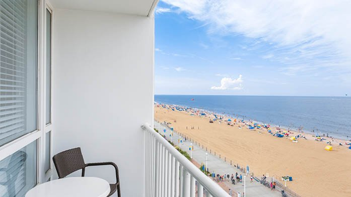 Oceanfront view from your balcony
