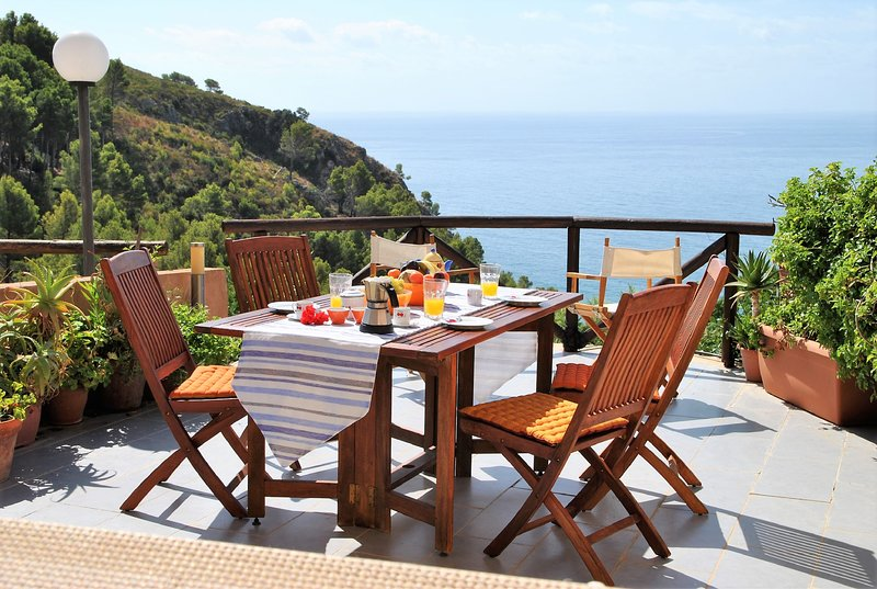 Villa Arborea a Sperlonga, holiday rental in Sperlonga