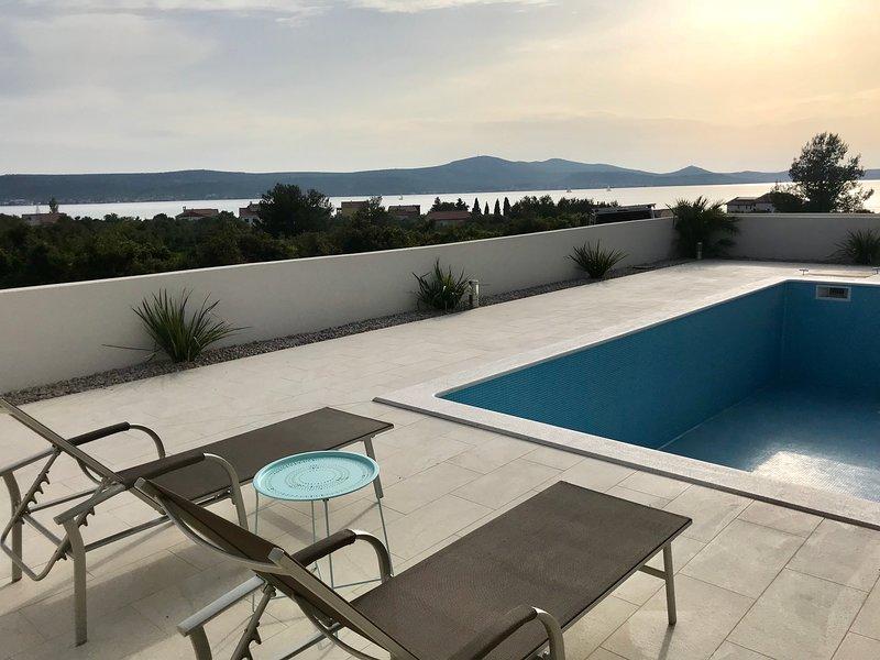 Deluxe studio app 4 in Villa Ria**** with pool, holiday rental in Sveti Petar