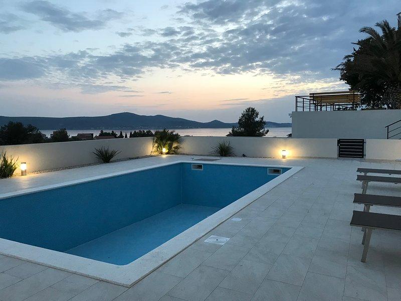 Deluxe studio app 3 in Villa Ria**** with pool, holiday rental in Sveti Petar