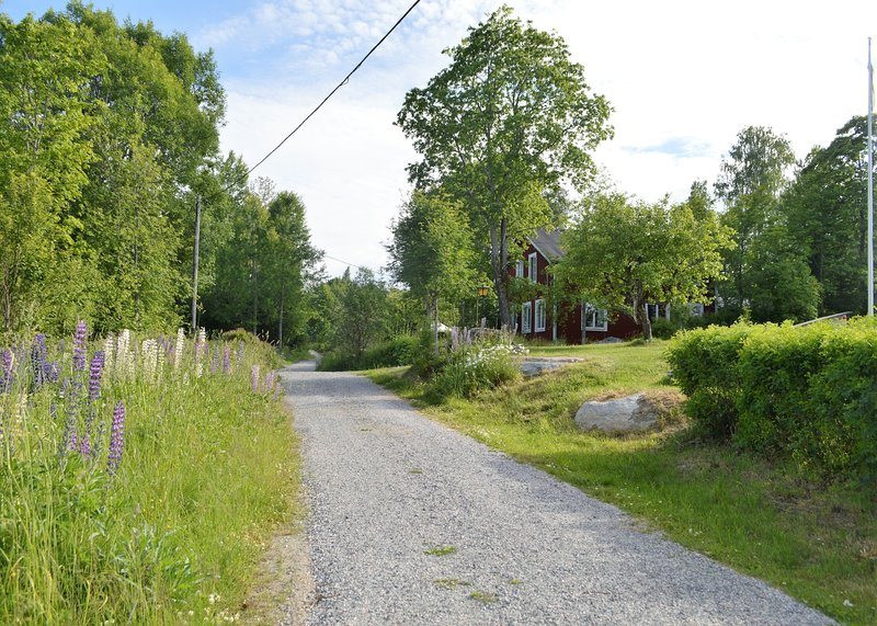 Traditional Swedish cottage with modern conveniences – semesterbostad i Bergby