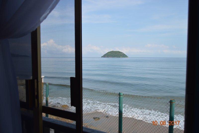 Casa de playa en la Peñita de Jaltemba, Riviera Nayarit, México, aluguéis de temporada em Chacala