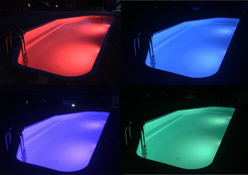 Multi - color pool lights
