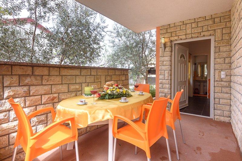 Studio apartment 'Maslina', holiday rental in Gornji Karin