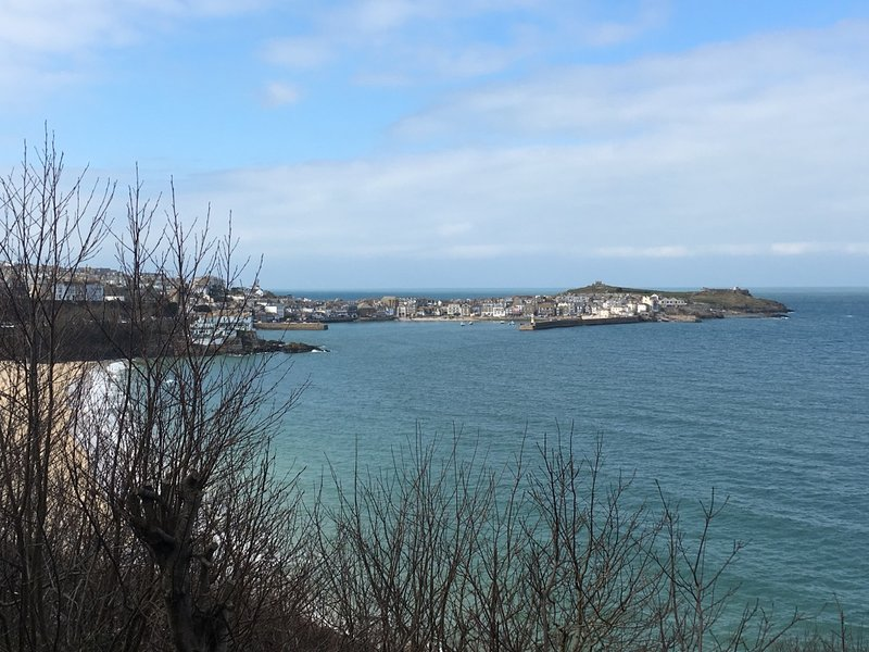 View of the harbour from Porthminster Beach