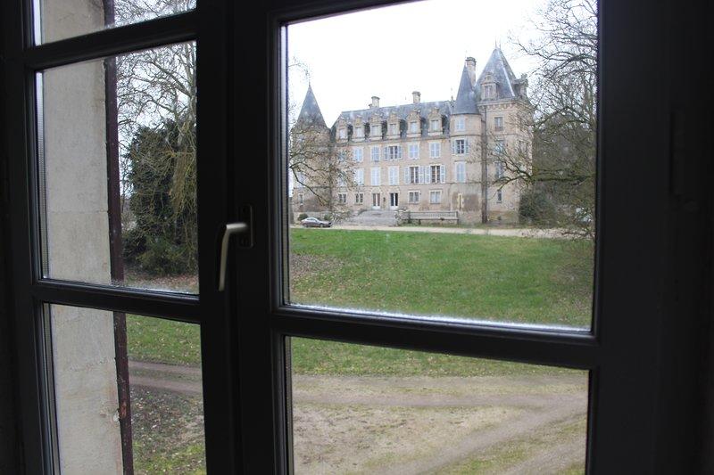 Gite du château a 30km de Bourges, holiday rental in Sancoins