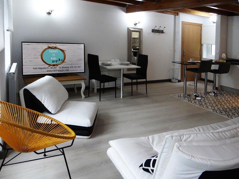 MARTINA LAPIKO DUPLEX, URDAIBAI, holiday rental in Muxika
