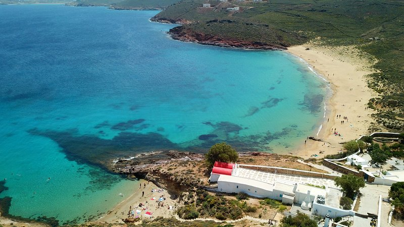 Agios Sostis beach 500 meters from the villa