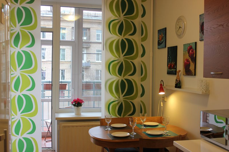 One bedroom apartment near metro station just 15 min from city center, location de vacances à Vsevolozhsky District