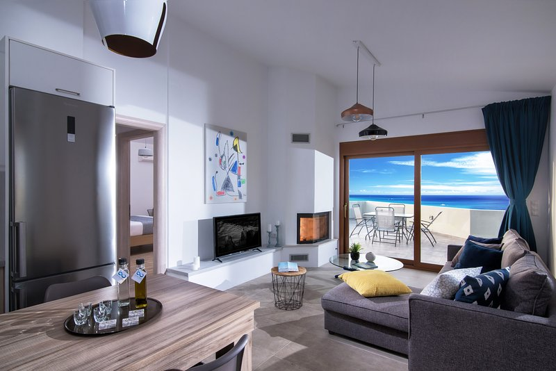 Infinite blue apartments (Second Floor), holiday rental in Mades