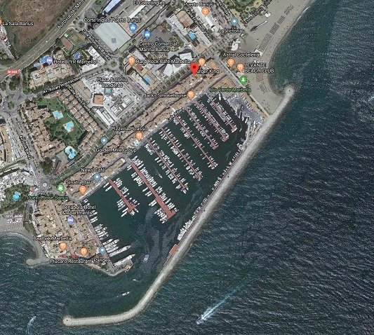 location second to none in Puerto Banus Marbella Spain