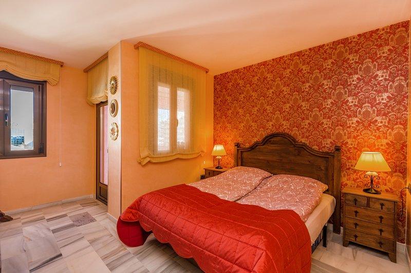 Master bedroom, 2 bedroom apartment for rent costa del Sol