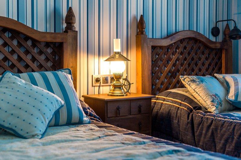 Twin bedroom 2 bedroom apartment for rent Costa del Sol