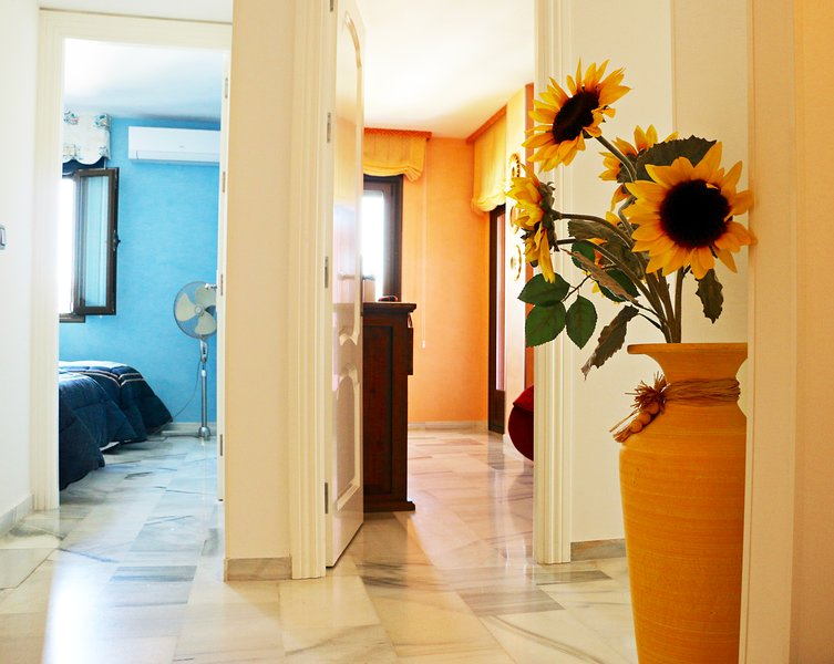 Attention to details throughout the house in 2 bedroom apartment for rent in Puerto Banus Spain