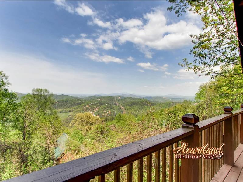 Mountain Views at this Wears Valley Cabin Rental