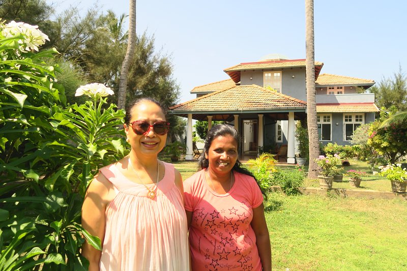 Boutique health-focused hotel on the beach in Sri Lanka, just north of Colombo, alquiler vacacional en Negombo