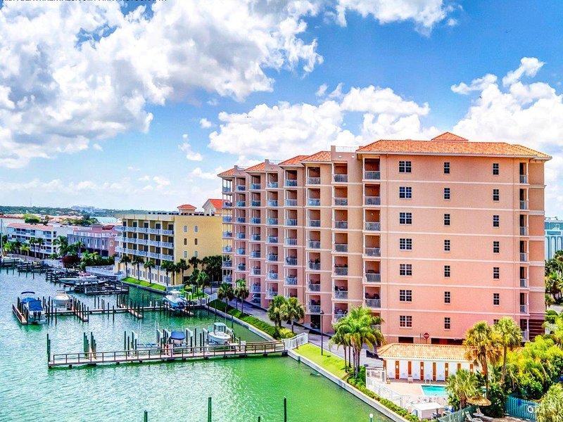 Condomini di vacanza di lungomare a Clearwater Beach