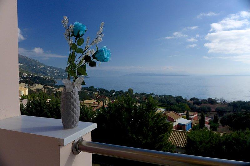 Sea View Cleo Villa | Barbati Bay View, holiday rental in Barbati