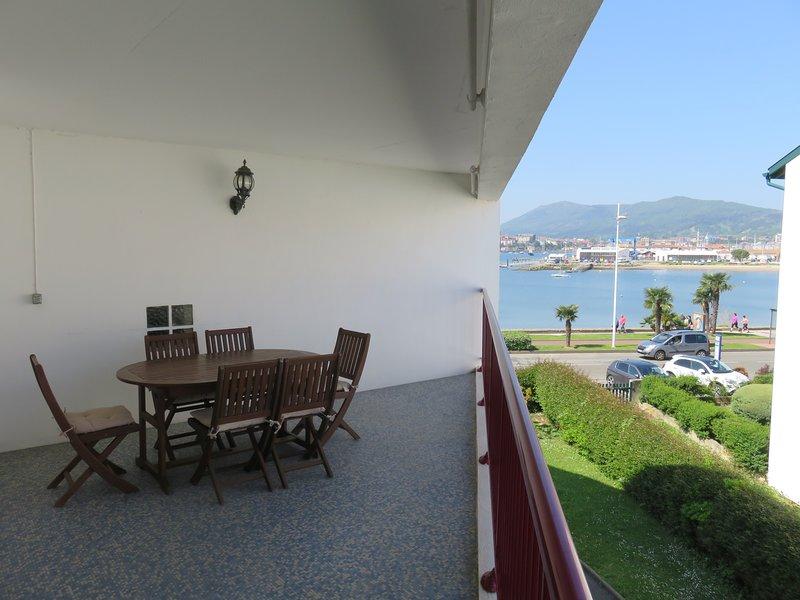 Apartamento en la bahía, alquiler vacacional en Hendaya