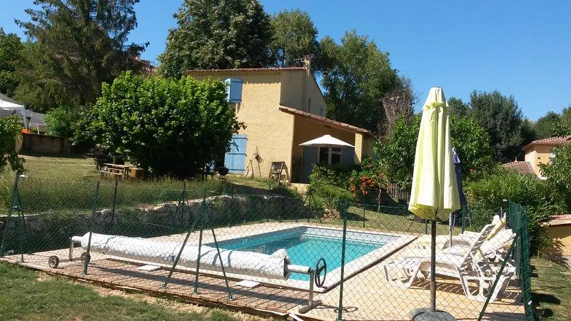 La Bergerie Provençale à Salernes, location de vacances à Sillans-la-Cascade