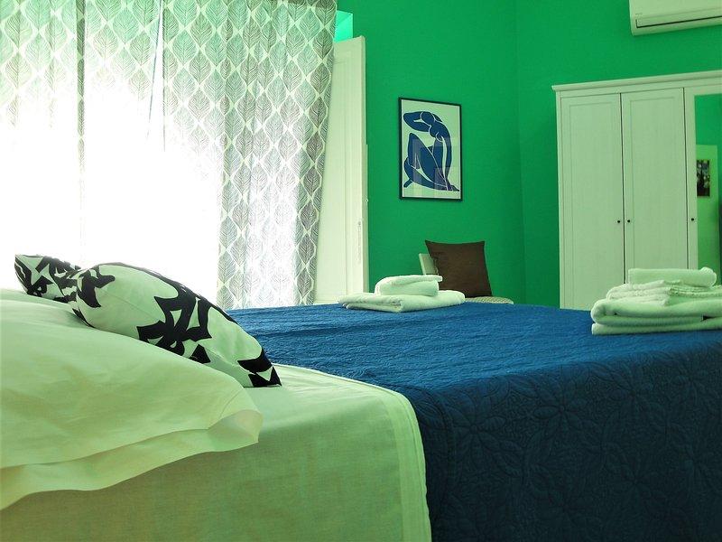 Stanza verde Chambre verte