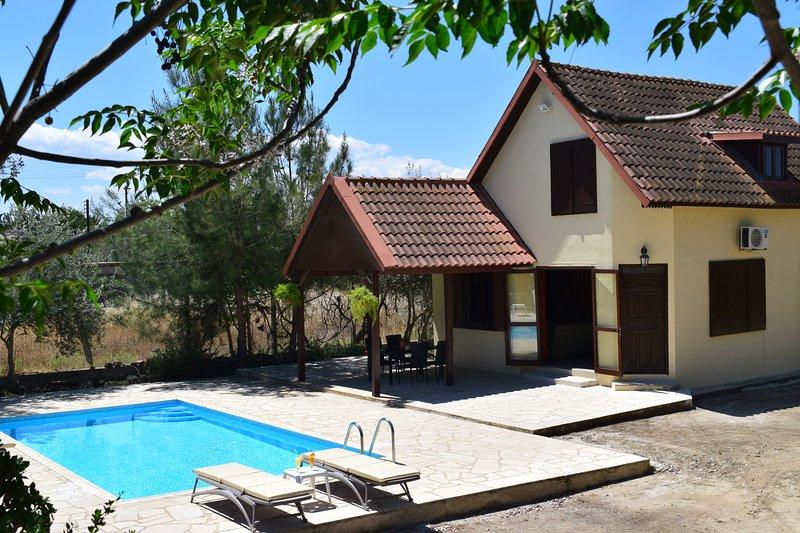 Agrídi Cottage pays agréable et joli village de vacances site