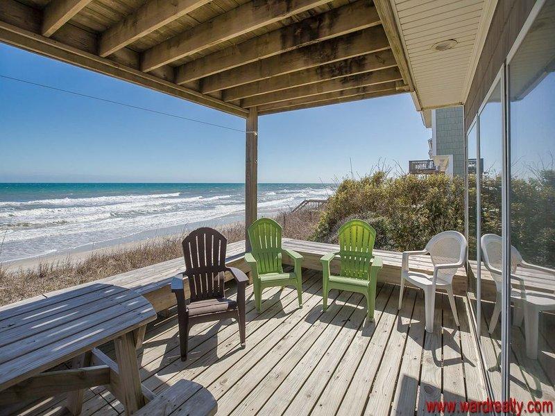 Oceanfront Covered Deck II