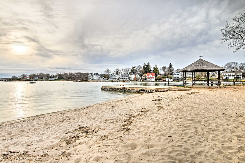 Toegang tot het strand met een 10 minuten lopen!