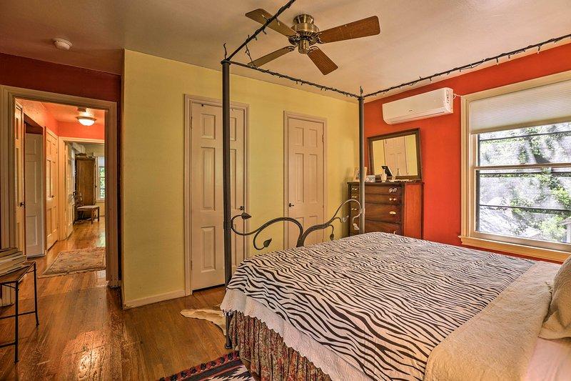 Le soir chaud Texas, allumez le ventilateur de plafond.