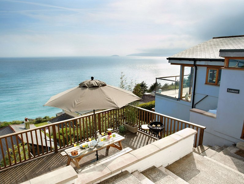Lookout, holiday rental in Polbathic