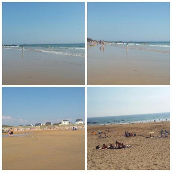 Bellangenet beach 400m from the rent