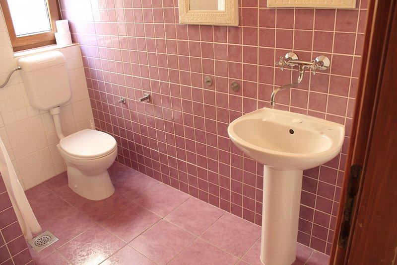 A2 (2 + 2): badkamer met toilet