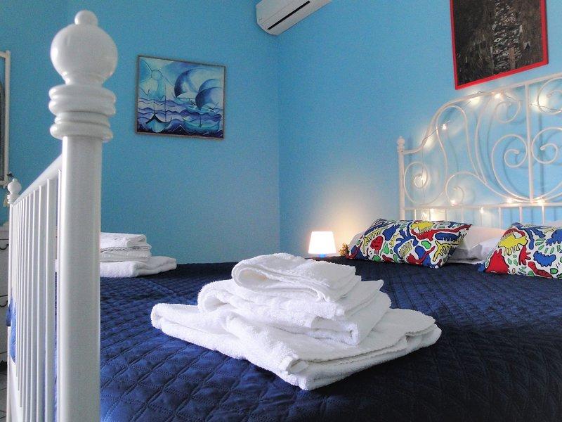 chambre bleue Stanza blu