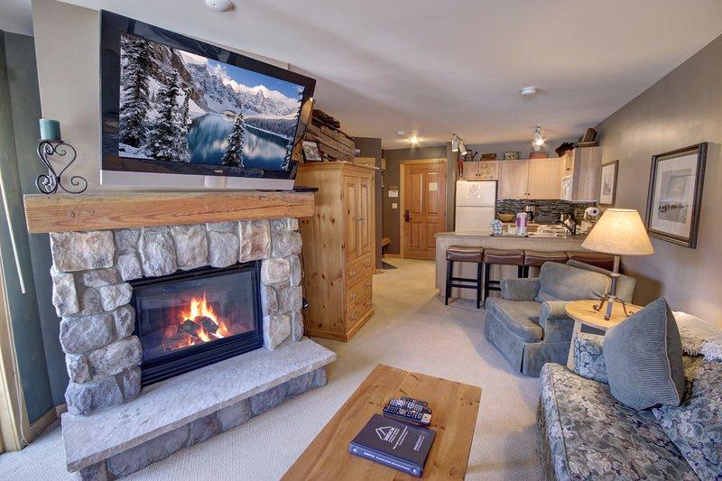 Open 1 bedroom condo located in Buffalo Lodge. In the heart of River Run.