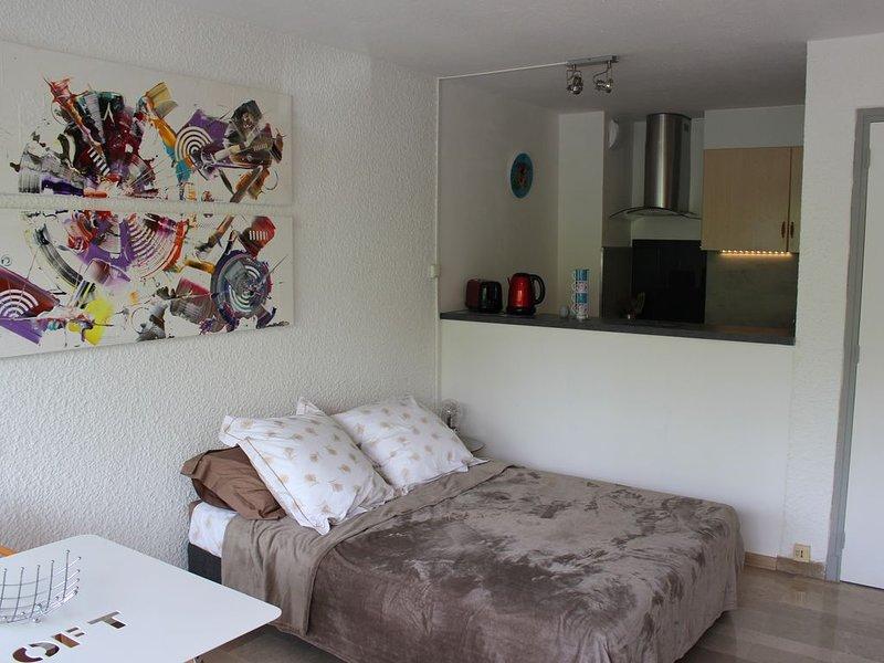 Studio cosy  'Aphyllante' à Carnon plage proche du Grand Travers, location de vacances à Carnon