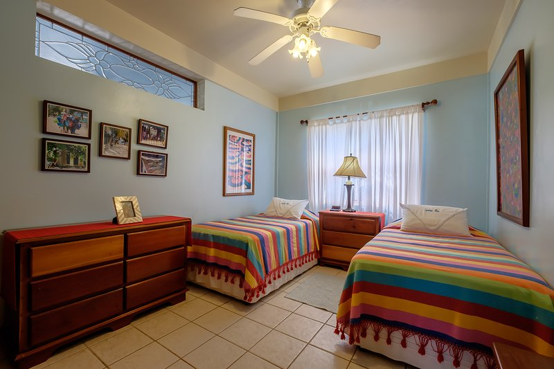 Third bedroom with two twin beds. Perfect for kids!