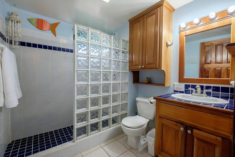 Second bathroom in hallway.