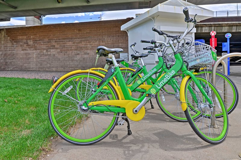 Use the community LimeBikes and ride to nearby Cherry Creek State Park!