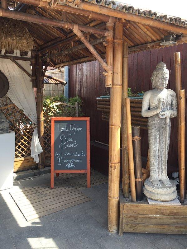 Nearby restaurant