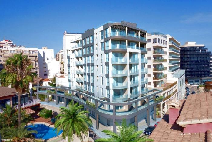 Melior 5E - New apartment on second line of Arenal Beach (+TV Vlaanderen), holiday rental in Calpe