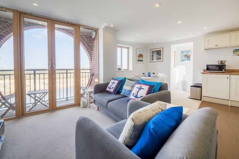 Quayside Lookout, holiday rental in Wells-next-the-Sea
