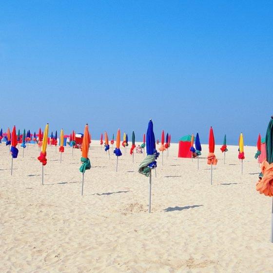 Deauville beach