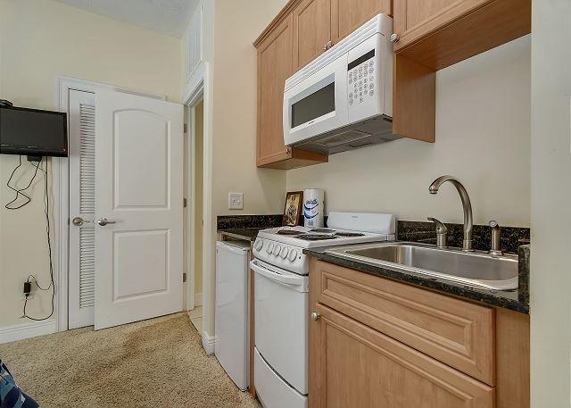 Kitchen in MIL Suite