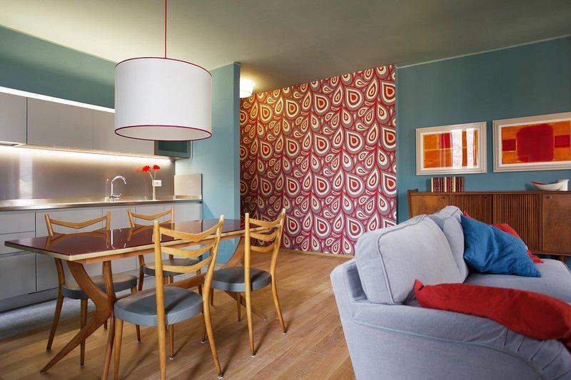 Vistas Suite Sala y comedor