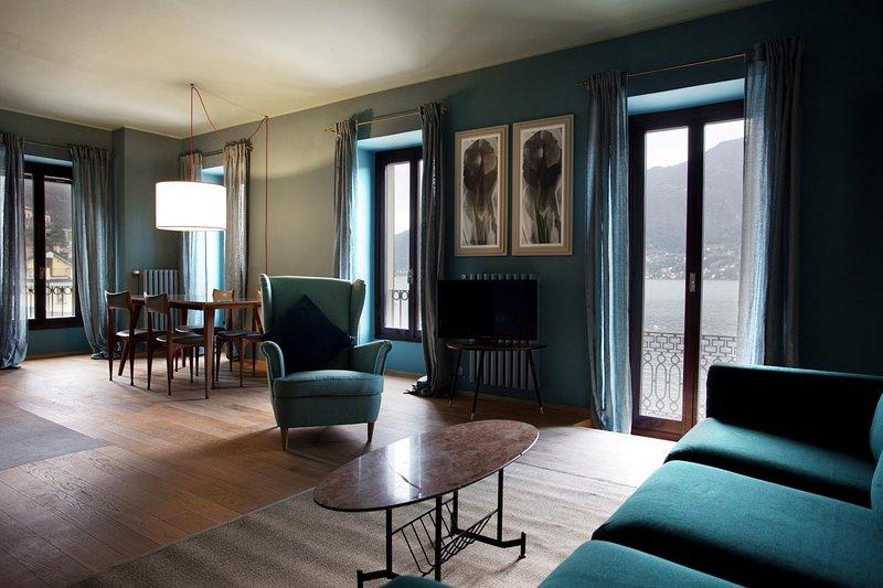 Domus Plinii 1792 Suites - Suite primo piano con vista mozzafiato sul Lago, holiday rental in Palanzo