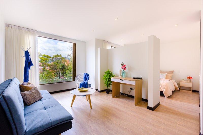 1 BR | Dreamy loft, holiday rental in La Calera