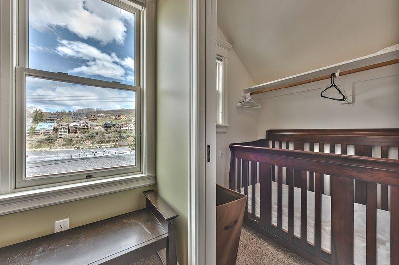 Bedroom 2 Closet with Crib