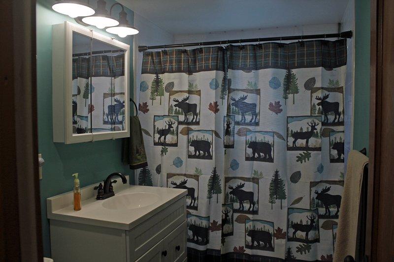 Planta principal baño completo