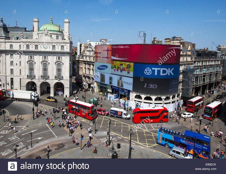 Piccadilly Circus - e fácil viagem de metro